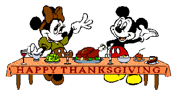 Happy Thanksgiving Micky & Minnie